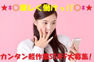【神奈川県座間市】新着♪駅から徒歩10分👣女性に人気!カンタン軽作業のお仕事