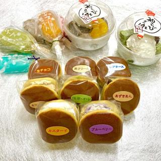 中津市加来にある和菓子屋の『いわまる』でチビドラ・葛アイス・和らびパフェを購入♡