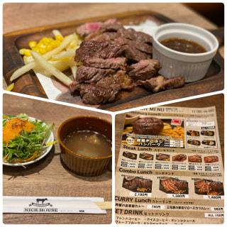 肉バル人気店:新山口駅の高架下にあるニックハウスへ🍖愛想の良い店員さんが 元気に迎えてくれます♪