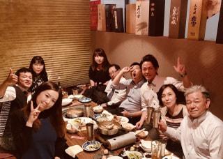 遅くなりましたが・・・歓送迎会開催♡美味しいものを食べて夏を乗り切ろう!!
