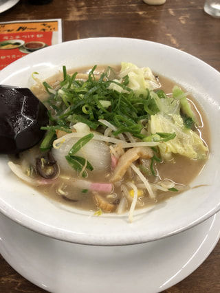 防府市♡野菜たっぷり拉麺やさんのちゃんぽん♡『拉麺 GINKORO』さんへ🍜
