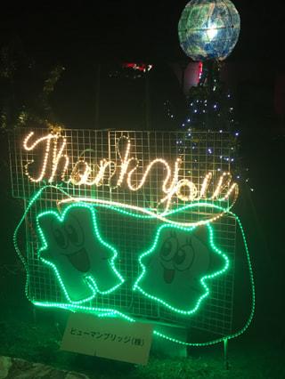 Loveファンタジア中津2018 イルミネーション ヒューマンブリッジ中津事業所が参加しています♡
