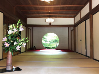 あじさい寺で有名な北鎌倉の明月院へ行ってきました。素敵なお寺です✨